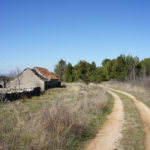 The carriageway at Žurića Brdo