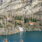The waterfall Roški Slap in National Park Krka