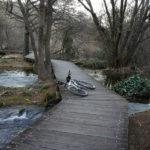 The trail near the waterfall Skradinski Buk in National Park Krka