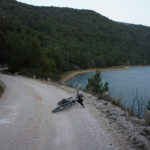 The section Skradinski Buk - Skradin in National Park Krka