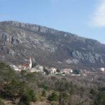 Grižane village