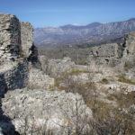 The ruins of Badanj fortress
