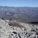The hiking path to Kavranova Stena