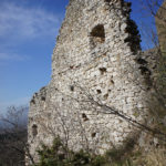 The ruins of Grižane fortress