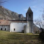 The church in Belgrad village