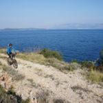 The section between Jelsa and Velika Prapatna on The Island of Hvar