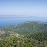 The view from the ridge of The Island of Hvar
