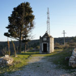 The junction next to Sv Roko chapel on The Island of Hvar