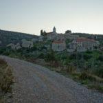 Veliko Grablje village on The Island of Hvar