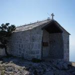 Sv Nikola chapel is situated at the peak of The Island of Hvar