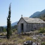 Sv Benedikt chapel on The Island of Hvar