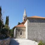 The church in Pitve village