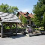 The fountain in Saborsko village
