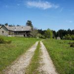 The hut in Čorkova Uvala valley in National Park Plitvice