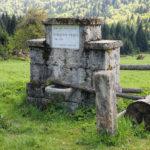 The fountain in Čorkova Uvala in National Park Plitvice