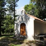 The chapel in Srida sela on Biokovo mountain