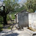 The water tank in Srida sela on Biokovo mountain