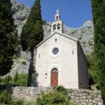 The church in Kotišina village on Biokovo mountain
