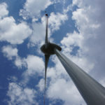 The wind-power generator at Orlice