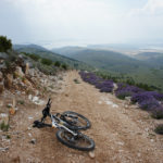 The descent section from Orlice to Grebaštica