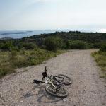 The descent to Primošten