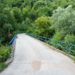 The bridge over Temštica stream. The bridge is named Mrtvački Most.