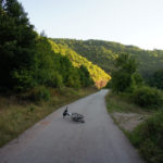 The paved section from Temska to Topli Dol