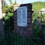 The monument in Topli Dol village