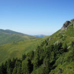 At the right side there is Vražja Glava section on Stara Planina mountain