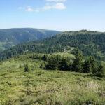 The first section from Vražja Glava to Topli Dol on Stara Planina mountain