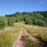The section to Topli Dol on Stara Planina mountain