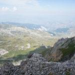 The view from Golem Korab / Maja e Korabit to Albania.