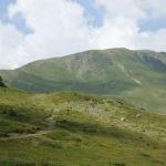 The section along Junik mountain to Gjeravica summit