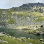 The lake below Gjeravica peak.