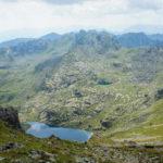 2 glacial lakes below Gjeravica peak