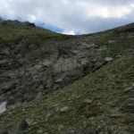 The descent section at the north side of Gjeravica