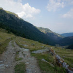 The descent section from Gjeravica mountain