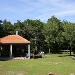 The resting place on the way to Sveti Ilija peak