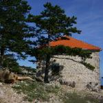 The hut on the trail to Sveti Ilija peak