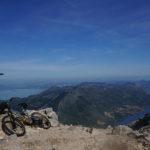 At Sveti Ilija peak. This is the highest elevation point of Pelješac peninsula