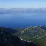 The view from Sveti Ilija peak