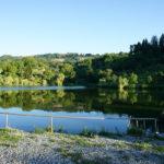 The lake in Nucsoara village