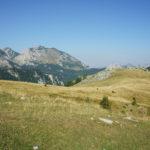 The landscape at Prijevor saddle