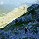 The hiking section from Prijevor saddle to Maglić peak