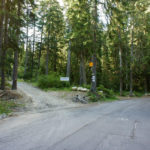 The junction on the trail from Borovets to Musala in National Park Rila