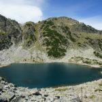 The 2nd lake on the trail from Musala Hut to Musala peak