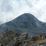 Skala 2905m peak, seen from Mytikas.