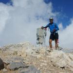 At Skala peak on Mount Olympus