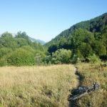 The singletrack towards Zla Kolata