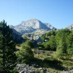 The view from the trail towards Zla Kolata